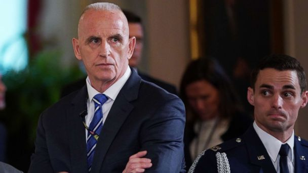 PHOTO: Director of Oval Office operations Keith Schiller attends the signing ceremony for the Department of Veterans Affairs Accountability and Whistleblower Protection Act of 2017, June 23, 2017, in the East Room of the White House in Washington.