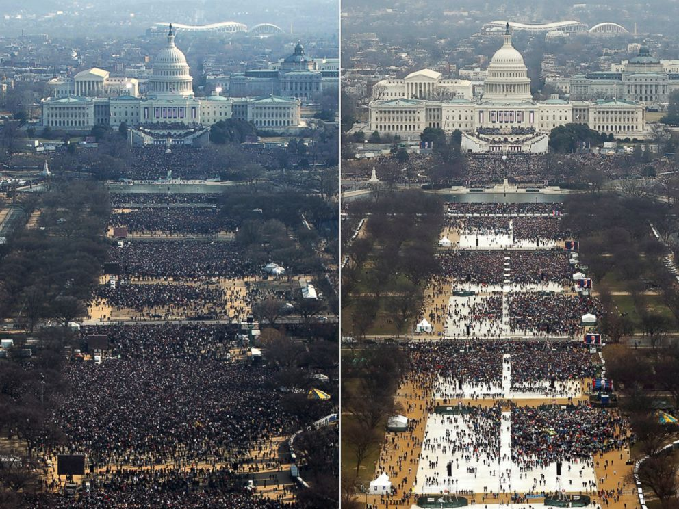 Donald Trump Inauguration as 45th US President