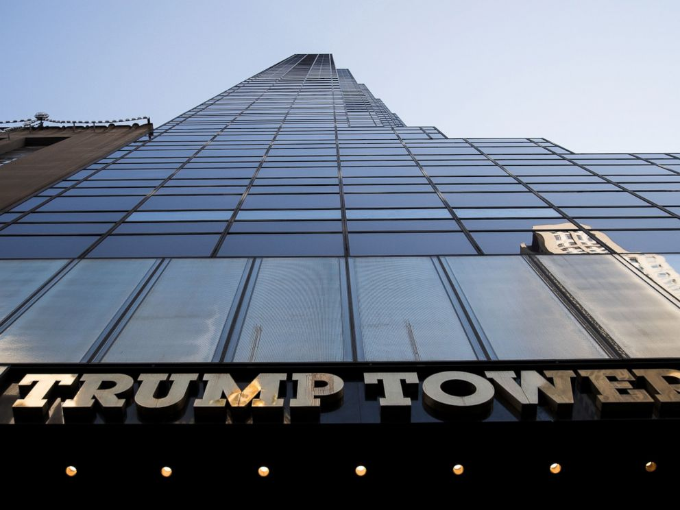 PHOTO: A view of Trump Tower on 5th Avenue, November 16, 2016 in New York City.