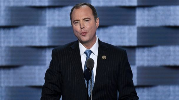PHOTO: Rep. Adam Schiff speaks at the Democratic National Convention in Philadelphia, July 27, 2016.