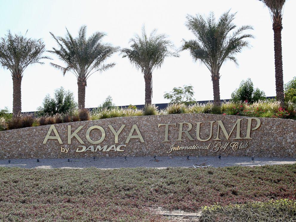 PHOTO: A general view of the entrance to the Akoya by Damac Trump International Golf Club, Dec. 12, 2015 in Dubai, United Arab Emirates.