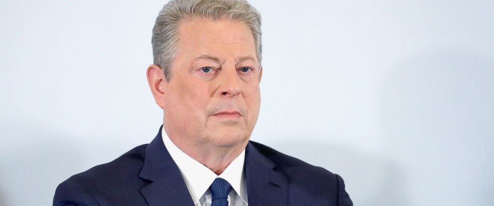 "PHOTO: Al Gore attends the ""An Inconvenient Sequel: Truth To Power"" press conference during the 70th annual Cannes Film Festival, May 22, 2017 in Cannes, France."