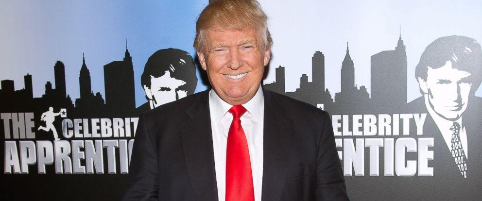 "PHOTO: Donald Trump attends the ""Celebrity Apprentice"" Red Carpet Event at Trump Tower, Jan. 5, 2015 in New York City."