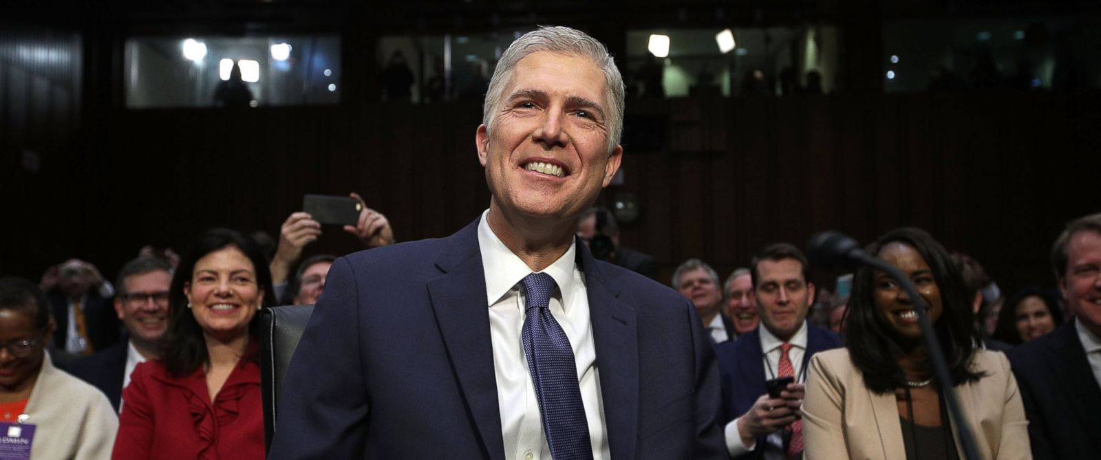 Image result for neil gorsuch hearing