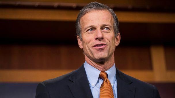 PHOTO: John Thune speaks during a press conference in Washington, Feb. 11, 2016.