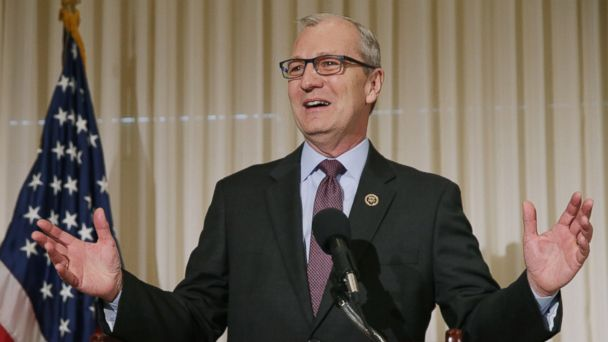 PHOTO: Rep. Kevin Cramer speaks during a news conference to launch the U.S. Agriculture Coalition for Cuba at the National Press Club, Jan. 8, 2015 in Washington, D.C.