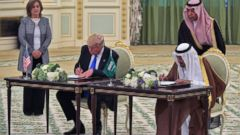 Trumps signs $110 billion arms deal with Saudi Arabia thumbnail