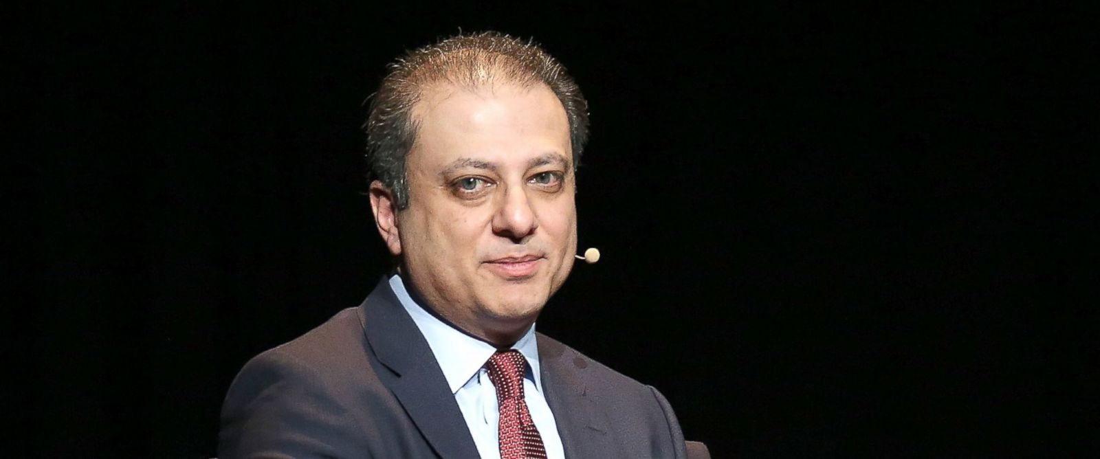 "PHOTO: Preet Bharara speaks at the 2016 ""Tina Brown Live Medias American Justice Summit"" at Gerald W. Lynch Theater, Jan. 29, 2016 in New York City."