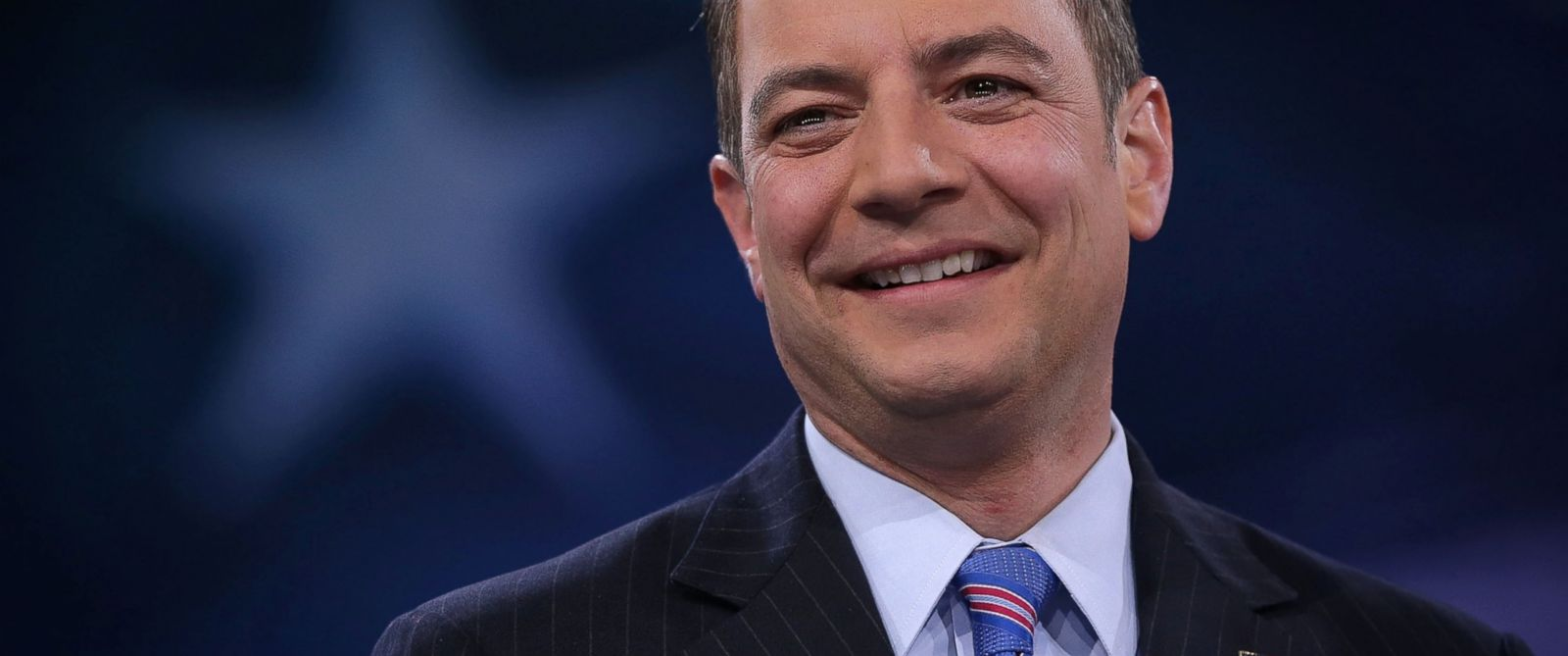 PHOTO: Chairman of the Republican National Committee Reince Priebus participates in a discussion during CPAC 2016 in National Harbor, Maryland March 4, 2016.