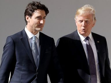 PM Trudeau meets with President Trump