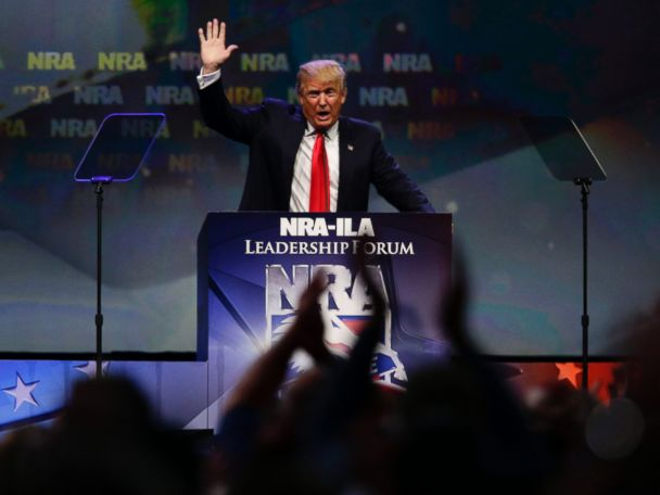 Trump is first president to address NRA in 34 years
