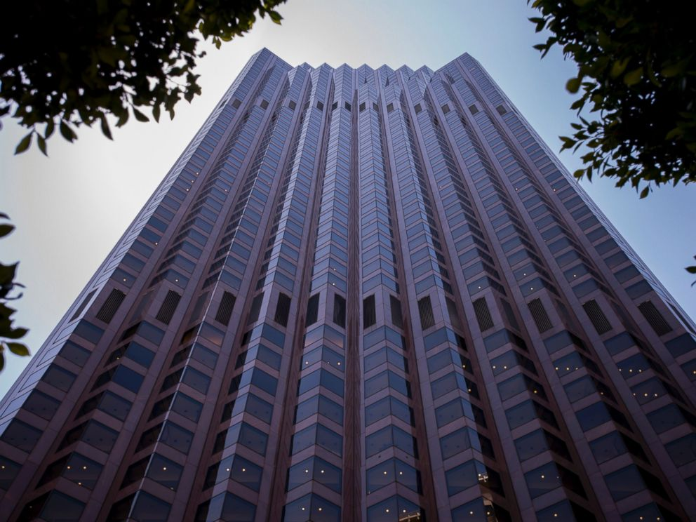 PHOTO: The former Bank of America Headquarters at 555 California Street stands in San Francisco, California, June 17, 2014.
