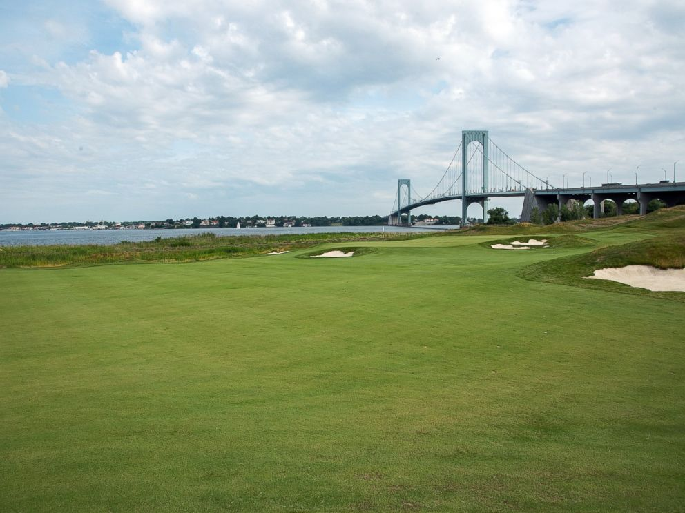 PHOTO: Trump Golf Links Ferry Point is seen here, July 6, 2015 in New York City.