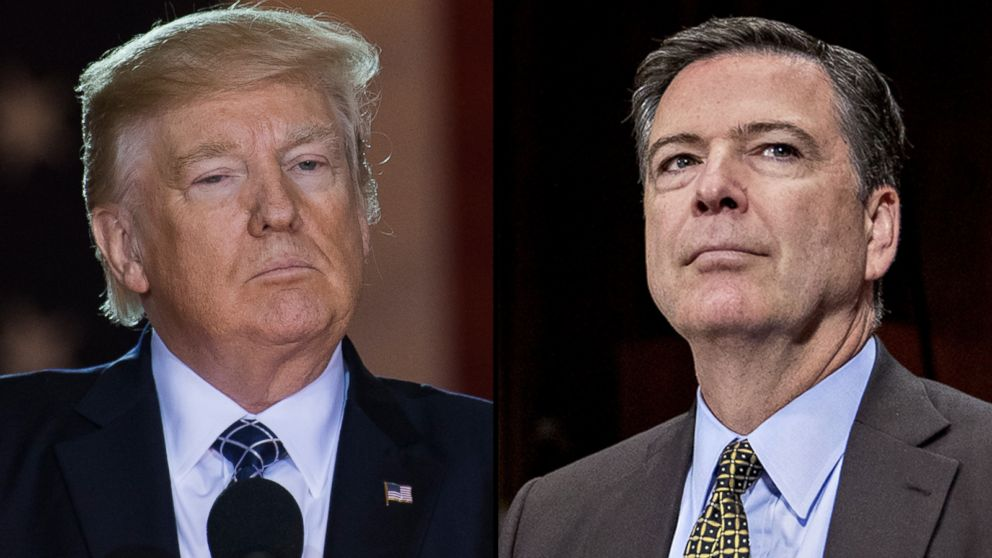 FBI Director James Comey turned up Trump-Russia probe days before firing