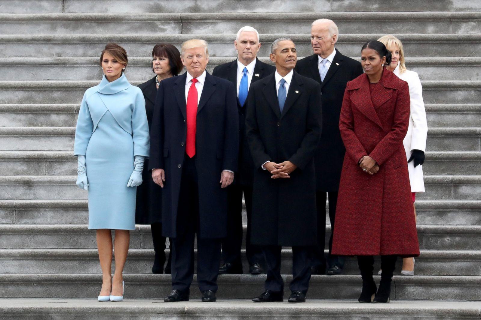 Donald Trumps Inauguration In Photos Photos Abc News