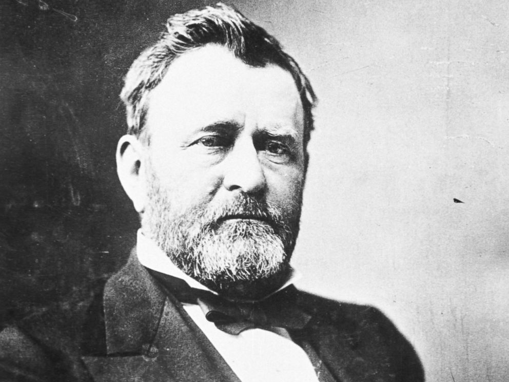 Ulysses S. Grant is seen here.
