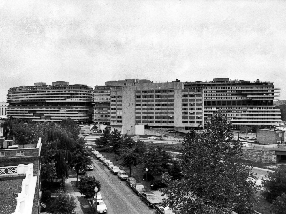 PHOTO: The Watergate apartment & hotel complex, Oct. 18, 1972 (rear of the Howard Johnson motel/restaurant visible in the center).