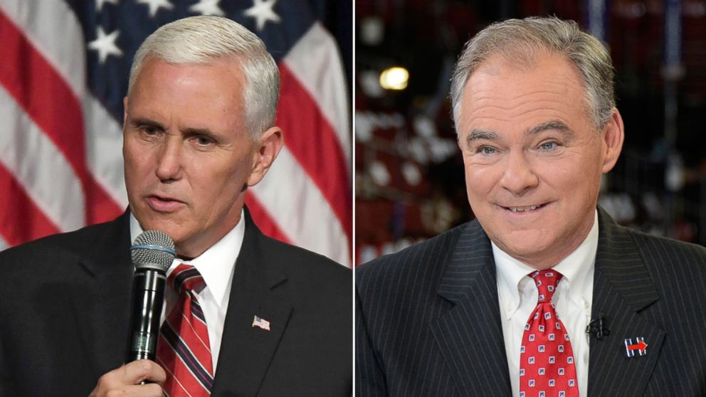 Here's where to watch the Tim Kaine and Mike Pence debate