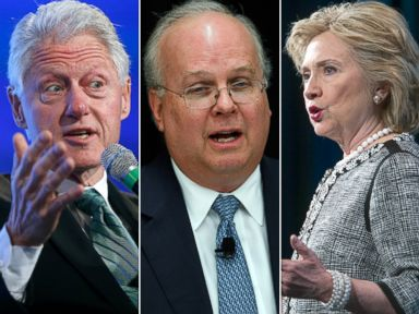 The Clintons Fight Back Against Rove, State Dept. Critics