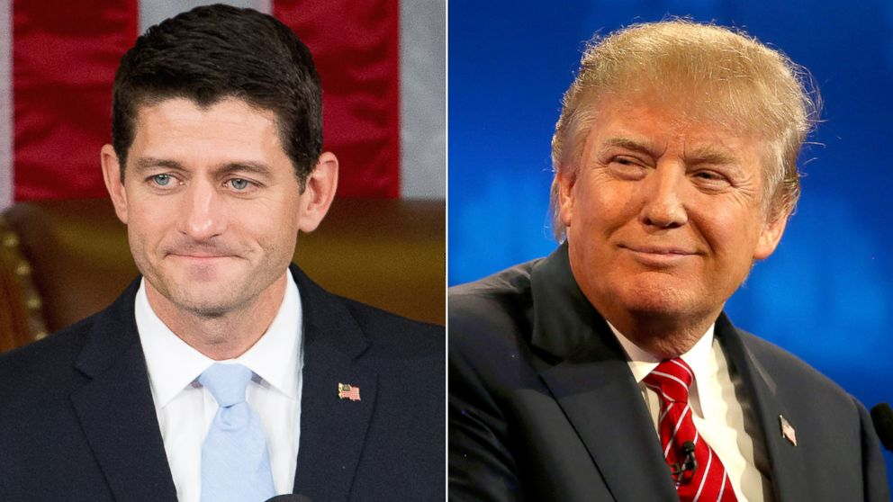 Image result for donald trump paul ryan