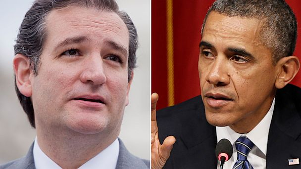GTY AP ted cruz barack obama jef 130924 16x9 608 Shutdown Countdown: 6 Days to Go