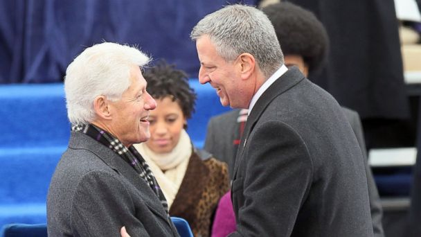 GTY Bill Clinton Bill De Blasio TG 140514 16x9 608 Be Related! And 4 Other Ways To Get the Clintons To Stump For You