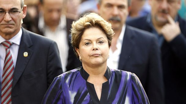 GTY Dilma Rousseff nt 130917 16x9 608 Brazil Snubs Obama State Visit Invite Over Spying
