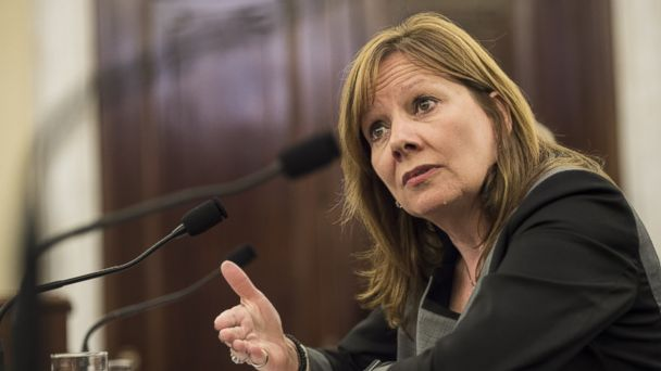 GTY GM Mary Barra mar 140717 16x9 608 Some Senators Demand Dismissal of Top GM Lawyer for Stunning Failure