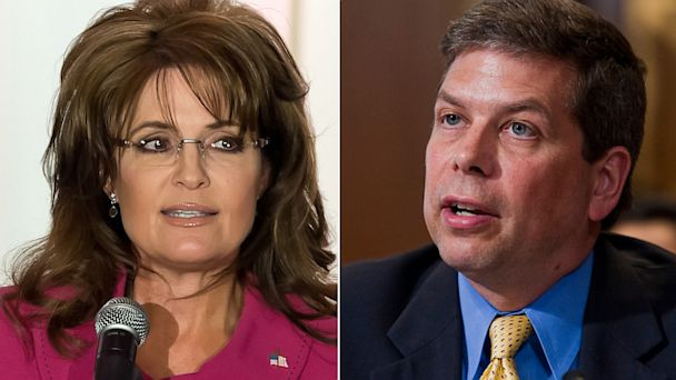 GTY GTY sarah palin mark begich jef 130711 16x9 608 Sarah Palin Feuds With Alaska Senator on Facebook