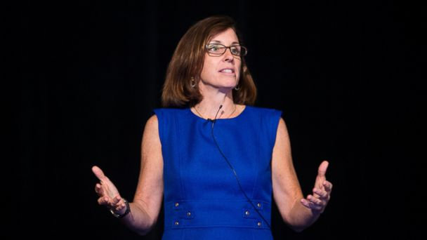 PHOTO: Martha McSally, Republican candidate running against Rep. Ron Barber in Arizonas 2nd Congressional district, speaks at the National Association of Women Law Enforcement Executives (NAWLEE) conference in Tucson, Ariz., on Aug. 9, 2014.