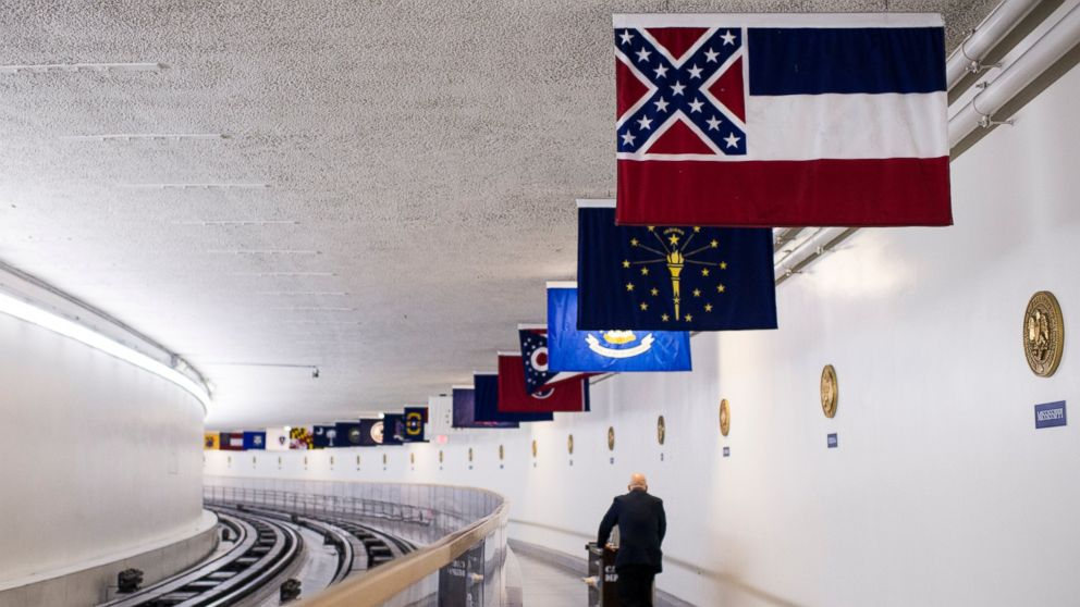 Confederate Imagery Taken Down in US Capitol