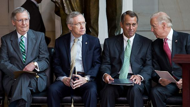 GTY Mitch%20McConnell Harry%20Reid boehner biden thg 130715 170858790 16x9 608 The Note: The Senate Reaches The Boiling Point