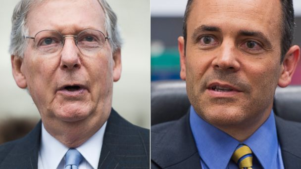 GTY Mitch McConnell Matt Bevin ml 131303 16x9 608 McConnell Challenger Says Nasty Primary Could Result in November Loss