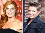 PHOTO: Natalie Maines and Connie Britton