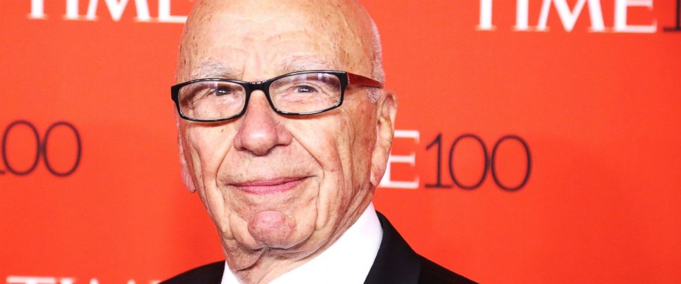 PHOTO: Rupert Murdoch attends the 2015 Time 100 Gala at Frederick P. Rose Hall, Jazz at Lincoln Center on April 21, 2015 in New York City.