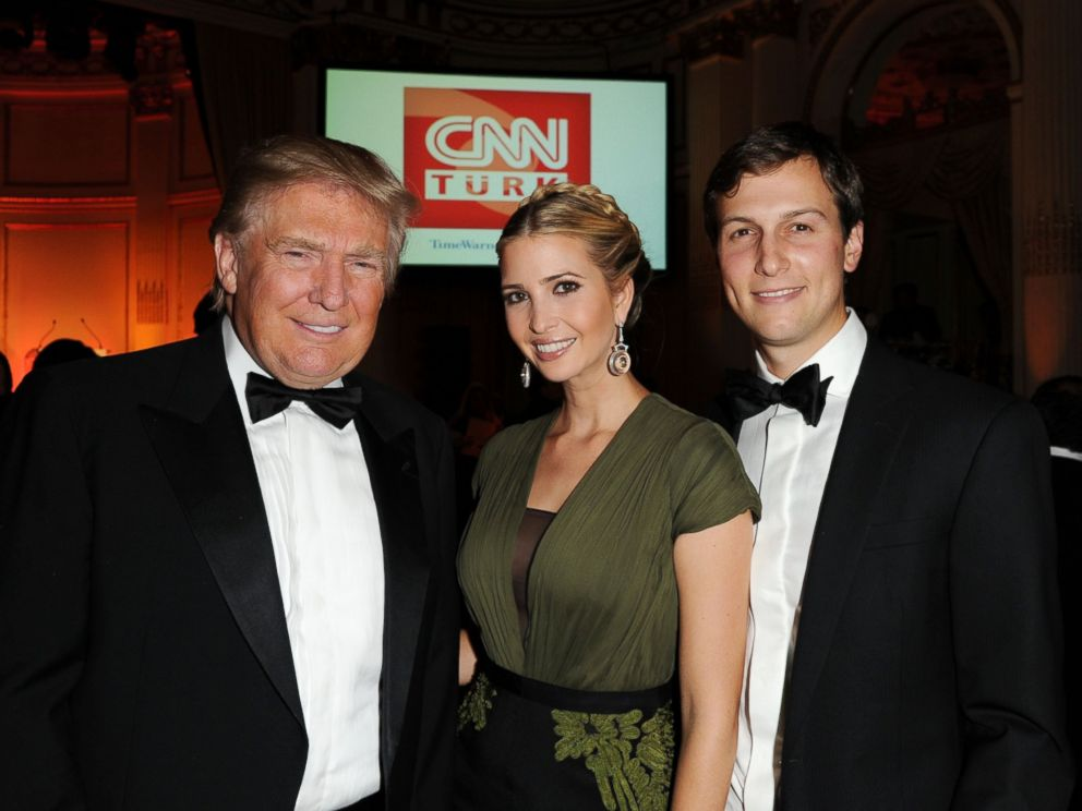 Image result for Kushner Trump