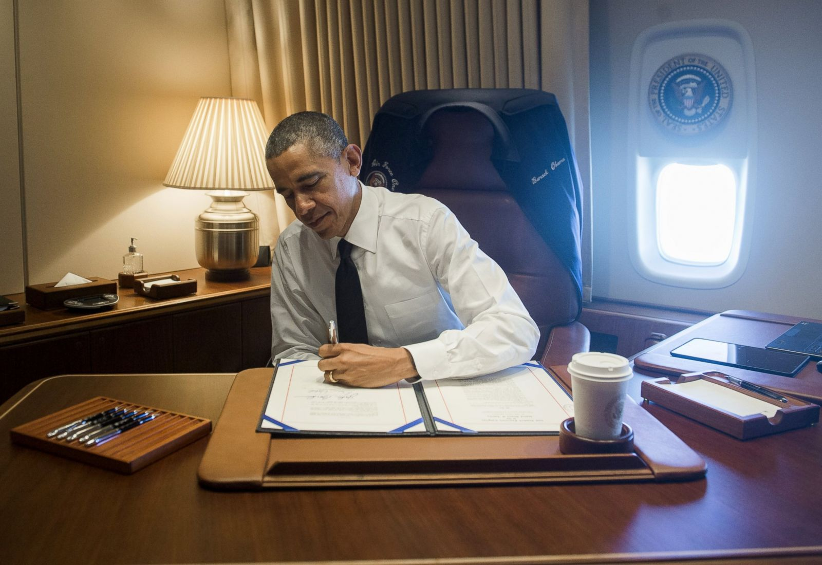 The Flying Oval Office Picture Air Force One US Presidents and