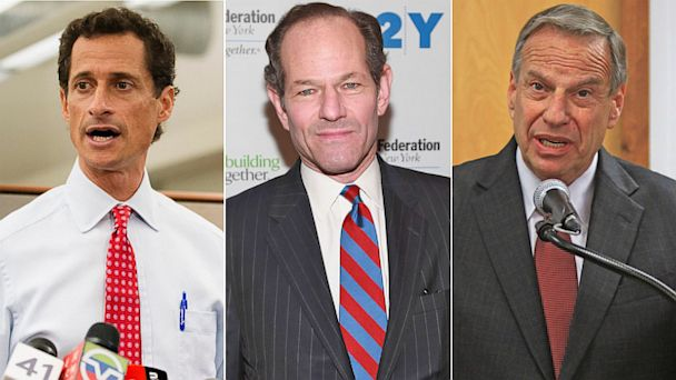GTY anthony weiner elliott spitzer bob filner thg 1200 130801 16x9 608 Party Wars    What Are They Good For?