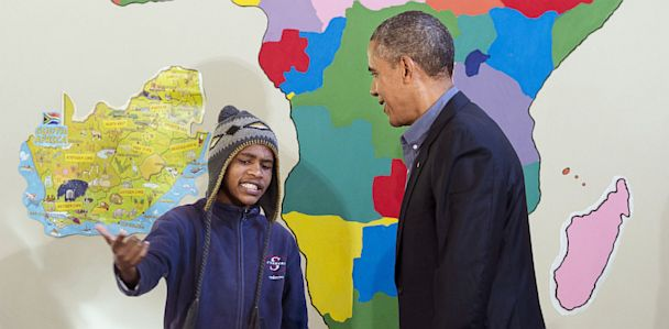Obama Advises Young Rapper to 'Drop The Mic'