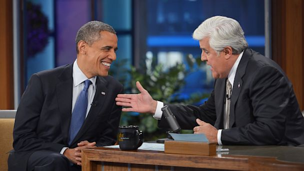 GTY barack obama leno tk 130805 16x9 608 Dems Top GOP as Most Lampooned Party