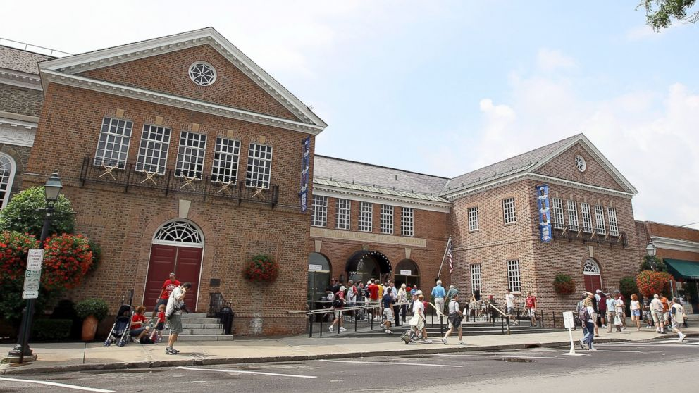 PHOTO: The Baseball Hall Of Fame and Museum is seen during induction weekend, July 24, 2010, in Cooperstown, New York.