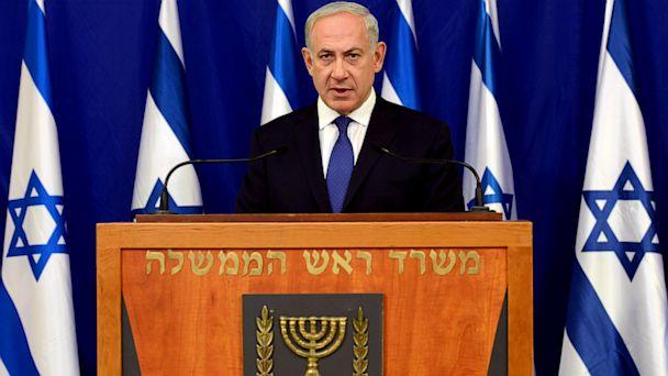 PHOTO: Israeli Prime Minister Benjamin Netanyahu