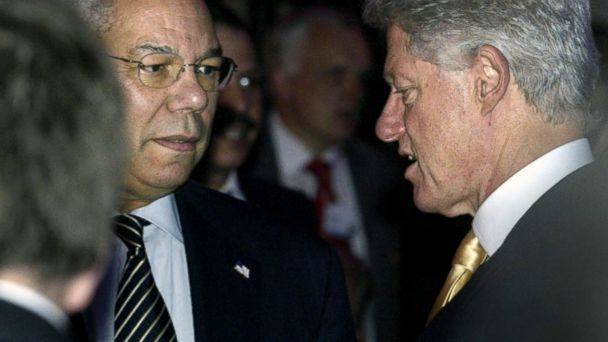 GTY bill clinton colin powell sk 140314 16x9 608 Why Bill Clintons Advisers Considered Colin Powell a Threat