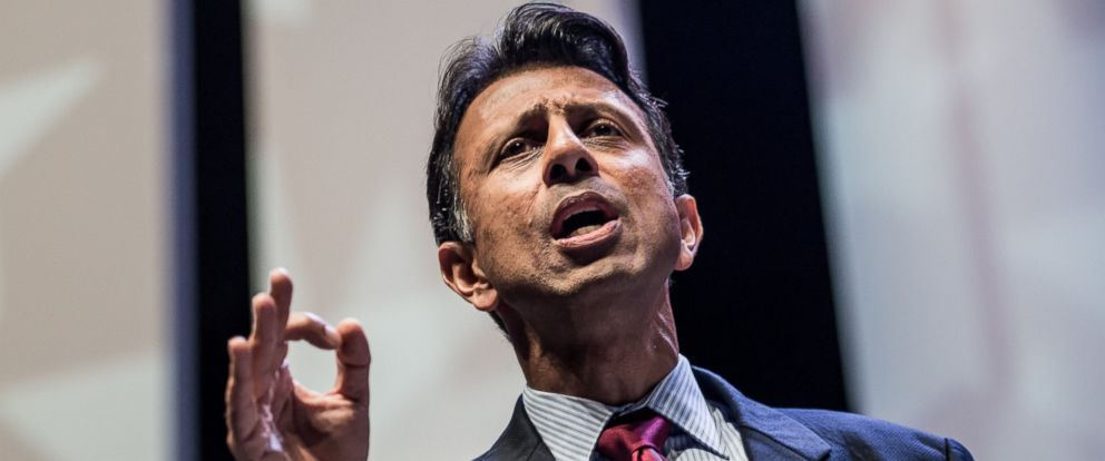 PHOTO: Bobby Jindal is pictured on Sept. 18, 2015 in Greenville, S.C.