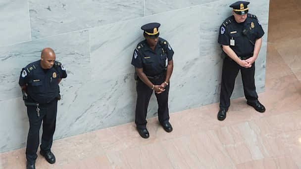 GTY capitol police ml 131004 16x9 608 Pay for Capitol Police Front and Center After Capitol Hill Scare