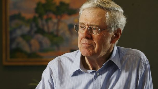 GTY charles koch kab 140403 16x9 608 Koch Brother Lashes Out Against Collectivists