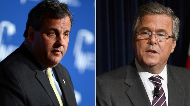 GTY chris christies jeb bush jtm 140514 16x9 608 Christie Says Running Against Jeb Bush Would Be Stressful