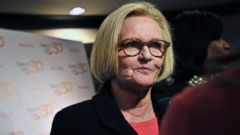 PHOTO: Sen. Claire McCaskill attends EMILYs List 30th Anniversary Gala at the Washington Hilton in Washington, March 3, 2015.