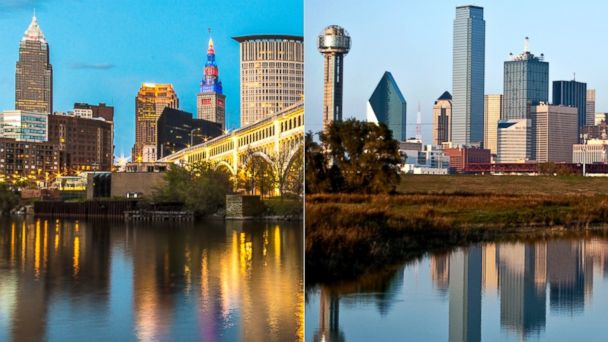 GTY cleveland dallas skyline sk 140626 16x9 608 Cleveland vs. Dallas: 2016 Republican National Convention Finalists Face Off