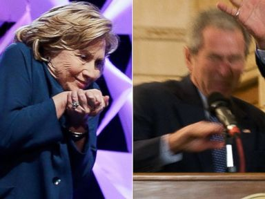 Clinton, Bush and a Fast-Flying Shoe: Who Dodged It Best?